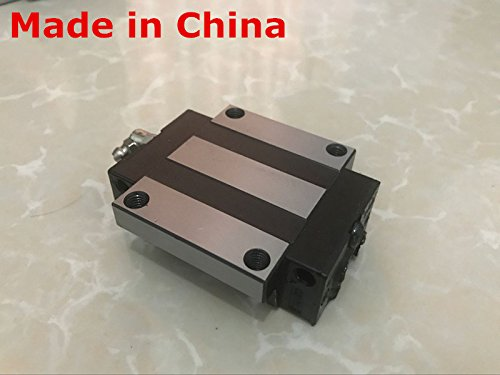 HiShangRC linear rail cnc parts 2pcs HGR15-1200mm 4pcs HGW15CA linear block carriage