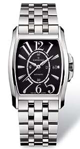 Candino Tradition - Reloj analógico de caballero automático con correa de acero inoxidable plateada - sumergible a 50 metros