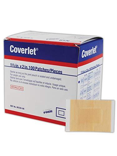 Beiersdorf BSN00330 Coverlet Elastic Patch Bandage, 1.5