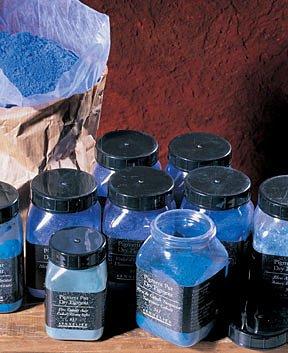 Sennelier Dry Pigment 175ml Jar - Sennelier Artist Dry Pigment 175 ml Jar - Ultramarine Deep