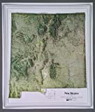 Raised Relief Map (New Mexico NCR Series, K-NM1720)