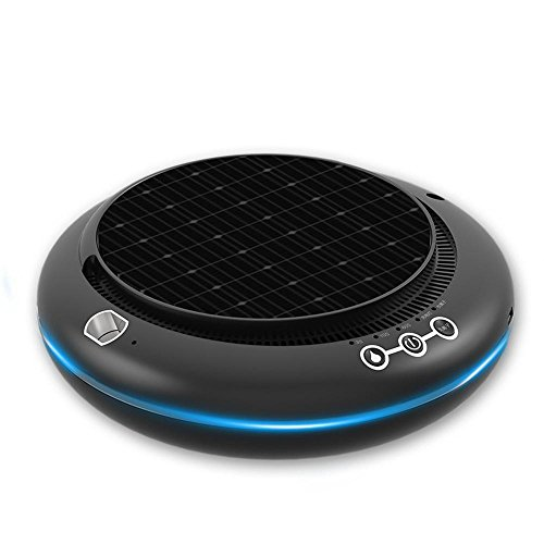 Ludage Solar car Air Purifier Auto ultrasonic anion Large capacity humidifier by Ludage
