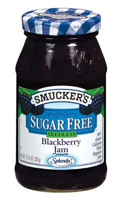 Smucker's  Sugar Free Seedless Blackberry Jam, 12.7500-Ounce (Pack of 6)