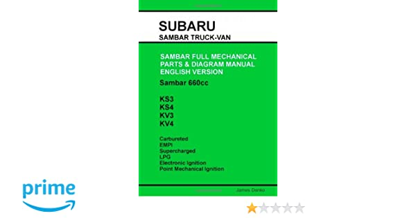 Subaru sambar english parts diagram manual james danko subaru sambar english parts diagram manual james danko 9780557178032 amazon books fandeluxe Choice Image