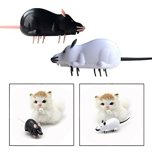 OFKPO Electronic Mouse Interactive Toys for Cat Dog Pet Novelty Gift