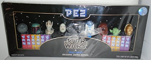 Star Wars Wal-Mart Exclusive Limited Edition Pez Collector's Set