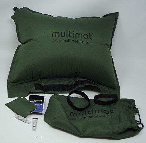 Proforce Equipment Multimat Trekker Pillow, Hunter Green