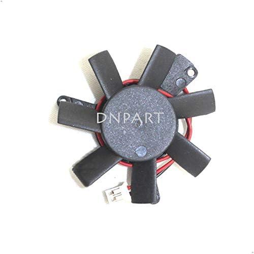 DNPART Cooler Fan for Power Logic PLD05010S12HH 12V 0.25A 2Wire for Sapphire HD7750 Video Fan