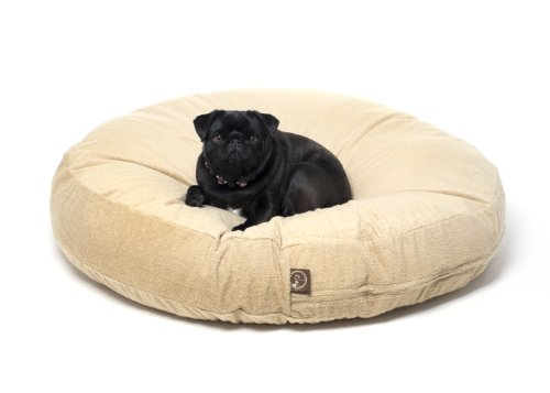 One For Pets Piddle-Proof Dog Bed Protector No More Accidents - Tan, 36'' Round x 5'' tall by One for Pets (Image #3)