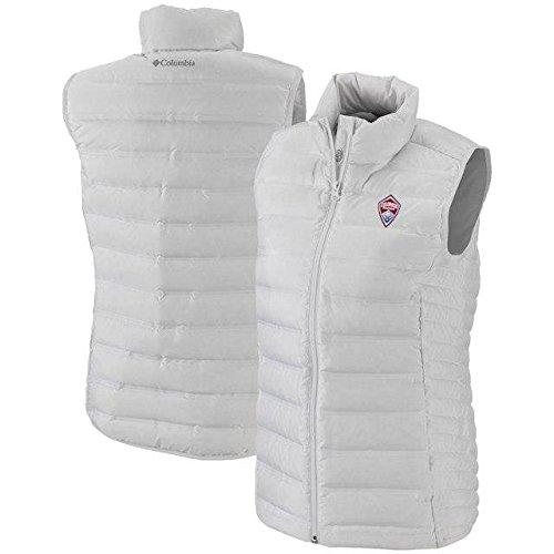 成功したエクステント言い聞かせるColumbia Columbia Colorado Rapids Women's White Lake 22 Full-Zip Vest アウターウェア ジャケット/アウター 【並行輸入品】