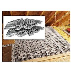 Amazon Com Attic Dek Flooring Pack Of 4 Panels Gray