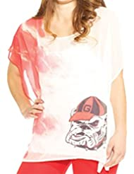 Emerson Street UGA Georgia Bulldogs Sheer Short Sleeve Tunic