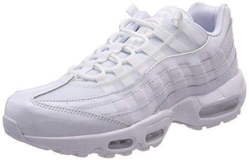 Nike Women's WMNS Air Max 95 Gymnastics Shoes White (White/White-white 108) UFOxCL2Z