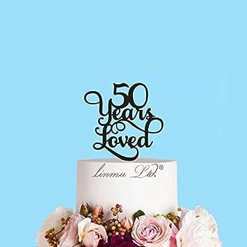 Michell63bentham 50 Ans Loved Pour Gâteaux De Mariage