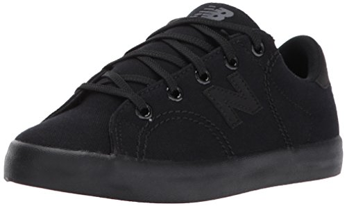 New Balance Boys' Court Shoe Sneaker, Black/Blac, 11 Wide US Little - Shoes Brown Wide New