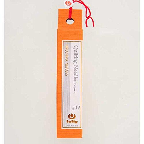Hiroshima Tulip Needles Quilting Needles Between #12