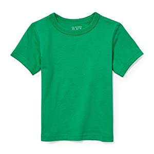 The Children's Place Baby Boys Short Sleeve Solid Tee Shirt, Midwest Plains 2443, 2T