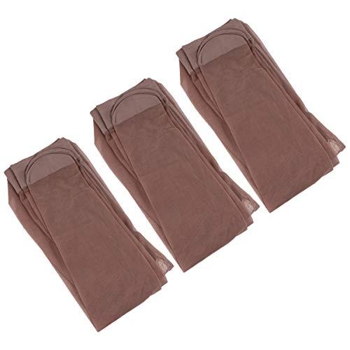 KESYOO 3 paar Womens ondoorzichtige Control-Top panty met Comfort Stretch ondoorzichtige panty hoge kousen zwart…