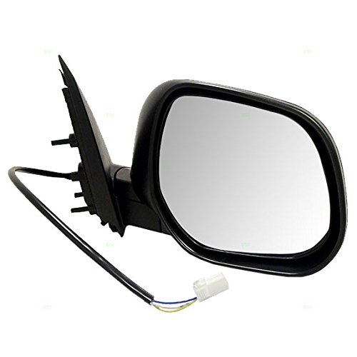 Passengers Power Side View Mirror Ready-to-Paint Replacement for Mitsubishi SUV 7632A064