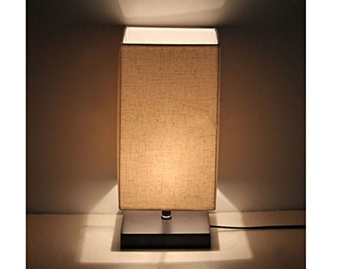 Surpars House Minimalist Solid Wood Table Lamp Bedside Desk Lamp by Surpars House (Image #3)
