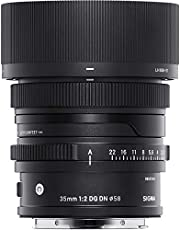 Sigma 35mm f/2 DG DN Contemporary Lens for Sony E-Mount