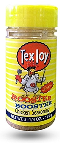 TexJoy Rooster Booster Chicken Seasoning, 5.25 Ounce Shaker
