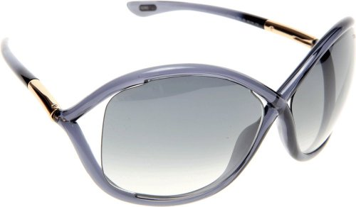 Tom Ford Women FT0009 WHITNEY Brown/Brown Sunglasses - Whitney Ford Tom