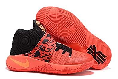 on sale be2ce 8e6cc Kyrie Men's Irving 2 Bright Crimson Orange Basketball Shoes