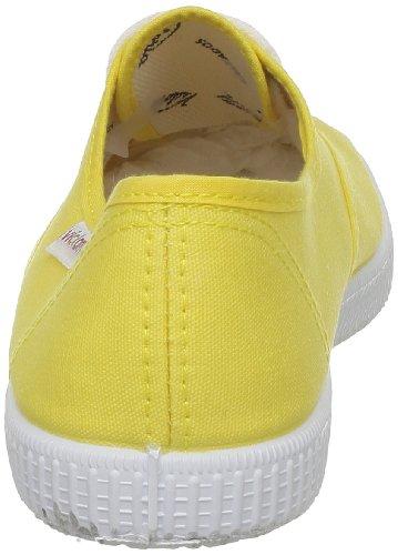 Unisex yellow Zapatillas Inglesa De 6613 Lona Victoria Amarillo Tela 8xzqT1Ywn4