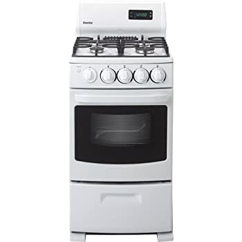 Danby DR2099WGLP 20 In. Ultra-Compact Gas Range - White