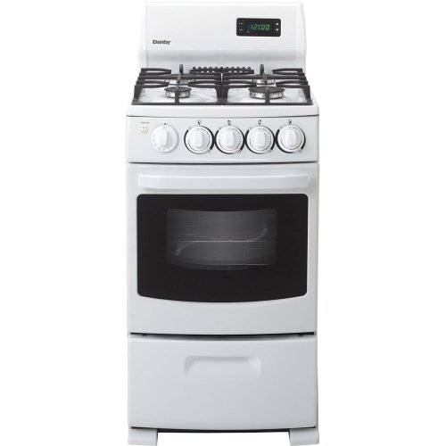 Danby DR2099WGLP 20 In. Ultra-Compact Gas Range – White image
