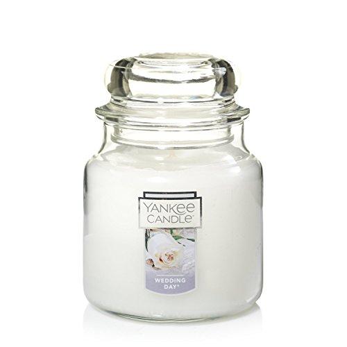 - Yankee Candle Medium Jar Candle, Wedding Day®