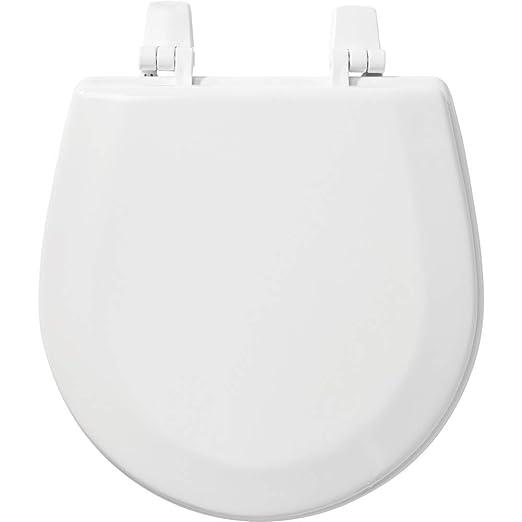 Admirable Bemis Tc50Tta 000 Marine Toilet Seat Durable Enameled Wood White Machost Co Dining Chair Design Ideas Machostcouk