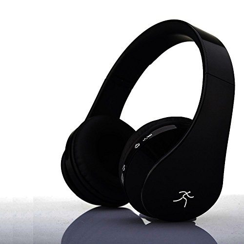 bluetooth headphones headset wireless foldable folding stereo earphones with noise reduction. Black Bedroom Furniture Sets. Home Design Ideas