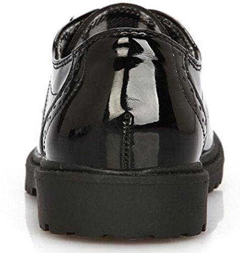Toddler//Little Kid//Big Kid DADAWEN Childrens Boys Girls Lace-Up School Uniform Shoes Comfort Oxford Dress Shoes