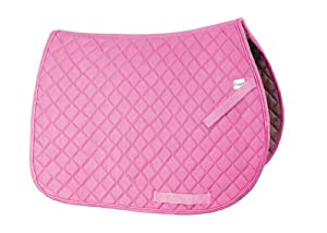 Perri's Leather Hot Pink Everyday Saddle Pad