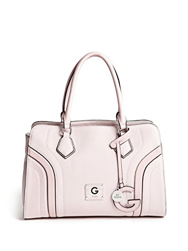 G by GUESS Women's Pebbled Faux-Leather Curtis Satchel