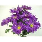 JumpingLight-Lavender-Gerbera-Daisy-Bush-Artificial-Silk-Flowers-Bouquet-12-586LV-Artificial-Flowers-Wedding-Party-Centerpieces-Arrangements-Bouquets-Supplies
