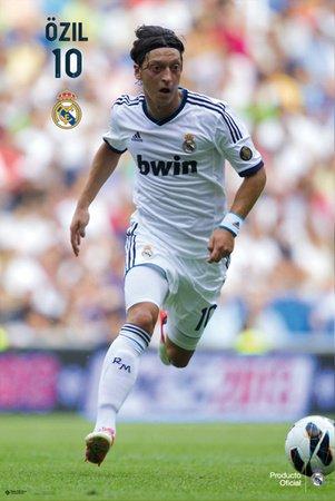 Amazon.com: Real Madrid – Ozil – Póster (91,5 x 61 cm ...