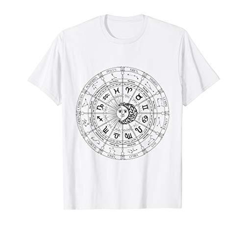 2018 Astrology Horoscope Zodiac Sign Calendar t-shirt