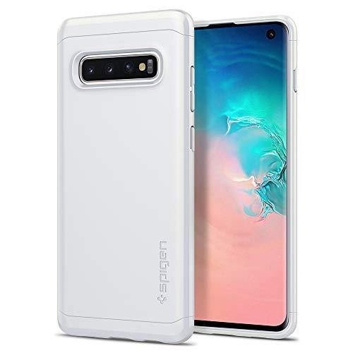 Spigen Thin Fit Classic Designed for Samsung Galaxy S10 Case (2019) - Prism White