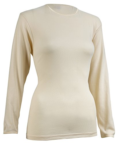 Rosette Women's Long Sleeve Undershirt, Smooth and Seamle...
