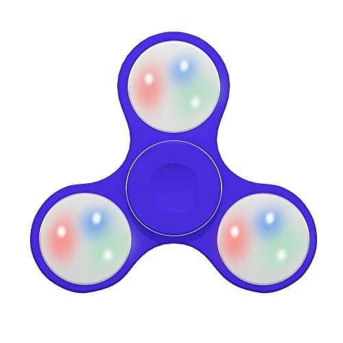 Fidget Spinner Toy Stress Reducer Light Up Switch Control