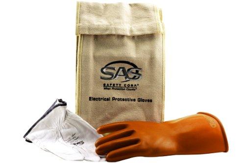 SAS Safety 6478 Electric Service Glove Kit, Large