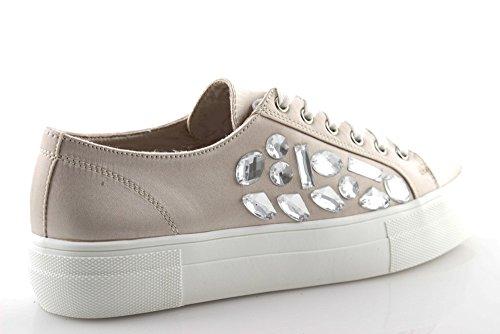 Fa58damgg0003 Scarpe Basse Gold Donna Strass Nere Raso Beige amp; Stringate Sneakers Con rqwPEpr