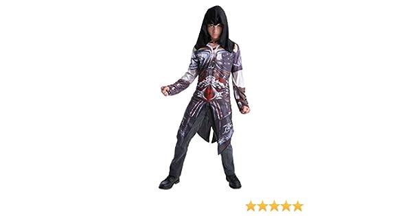 Disfraz Ezio Assassins creed Sublimation Adolescente: Amazon.es ...