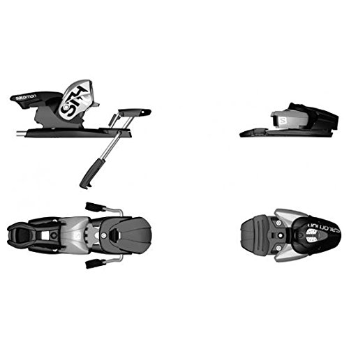 Salomon STH 10 Ski Bindings Silver/Black 90mm