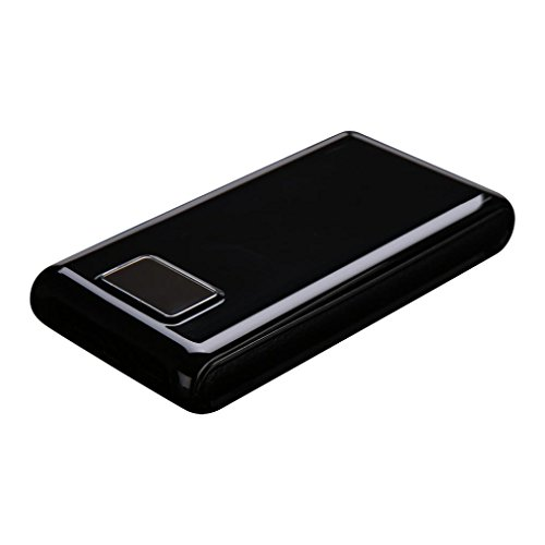Portable Power Bank Case Sandistore DIY 6 x 18650 Charger Box Power Bank External Backup Outdoor Cell Phone Battery Charger with Dual USB Port And Power Display, , [No Battery] (Black)