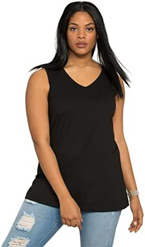 Ultimate Tee Women's Plus Size Ultimate V-Neck Tank