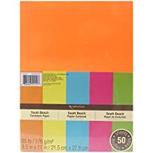 Recollections Cardstock Paper - Neon - South Beach Assorted Colors- 8.5 X 11
